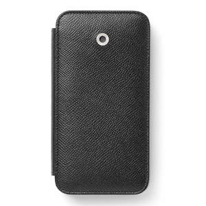 Black Graf von Faber-Castell Epsom iPhone X Cover Phone Case - 1