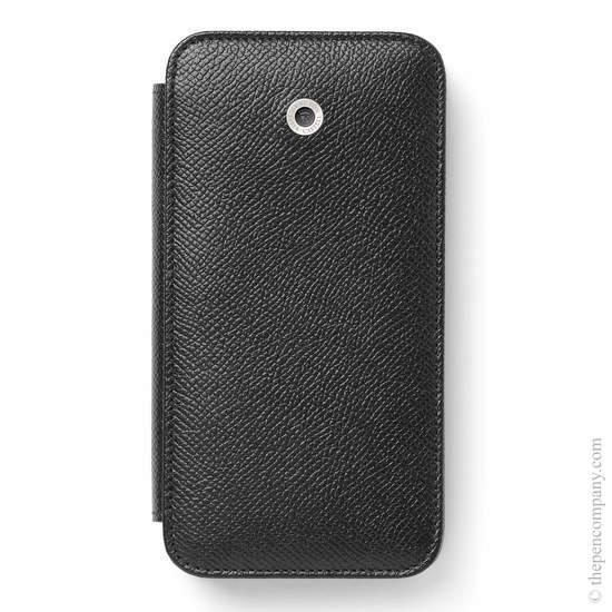 Black Graf von Faber-Castell Epsom iPhone X Cover Phone Case - 1