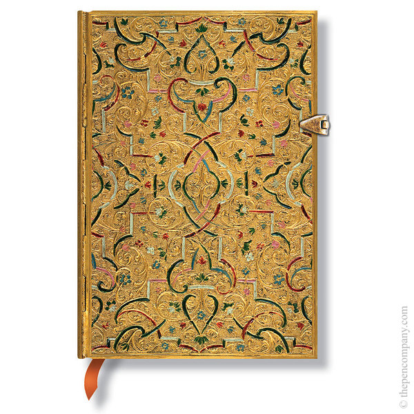 Midi Paperblanks Gold Inlay Journal Journal