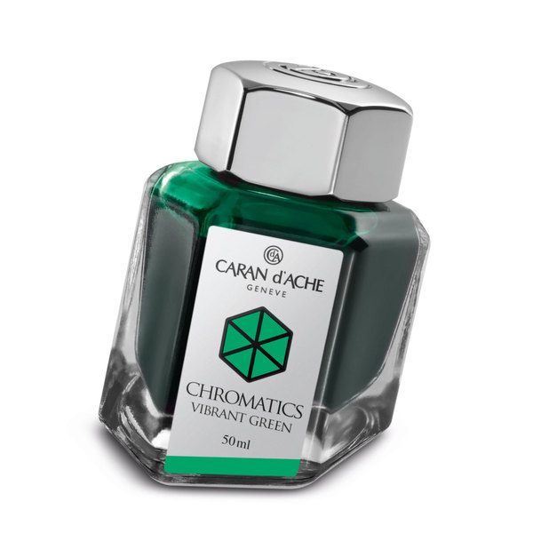 Vibrant Green Caran d'Ache Bottled Chromatics
