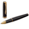 Black Lacquer Gold Diplomat Excellence A2 Rollerball Pen - 2