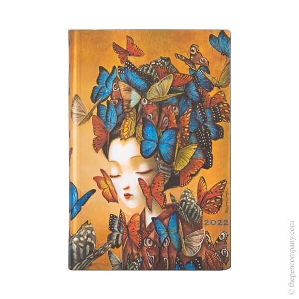 Mini Paperblanks Esprit de Lacombe Flexi 2022 Diary 2022 Diary