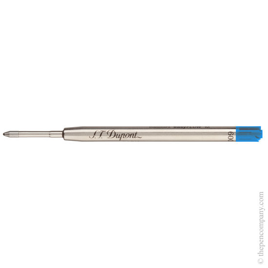 Blue Dupont ball point refill - 1