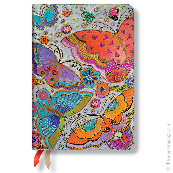 Paperblanks Flutterbyes Midi 2016 daily diary - 1