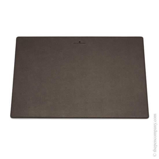 Dark Brown Graf von Faber-Castell Epsom Desk Pad - Grained - 1