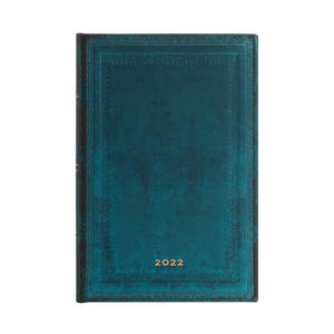 Paperblanks Old Leather 2022 Diary 2022 Diary Mini Calypso Bold - 3