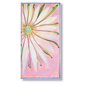 Slim Paperblanks Blossoms - Seraphim Address Book - 1