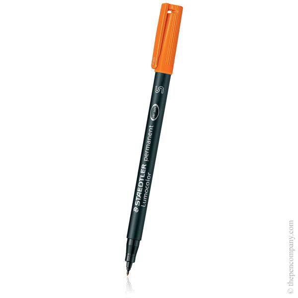 Orange [4] Staedtler Lumocolor Permanent Marker