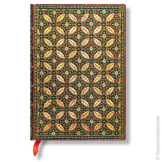 Lined Midi Paperblanks Mosaique Safran Parisian Mosaic Journal - 1