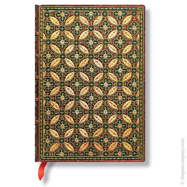 Midi Paperblanks Parisian Mosaic Journal Mosaique Safran Lined