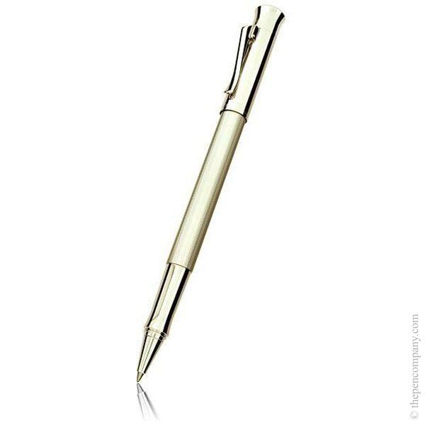 Rhodium Graf von Faber-Castell Guilloche Rollerball Pen