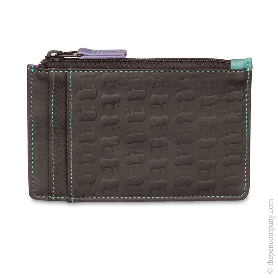Mywalit Ellie Card Holder with Zip Black Bluebell - 1