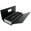 Lamy Accent Brilliant Ball point Pen Black/Rhodium Rings - 1