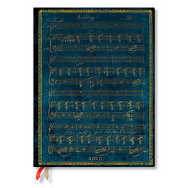 Ultra Paperblanks Embellished Manuscripts Flexi 2020 Diary Schubert, Erlkönig Day-to-View - 1