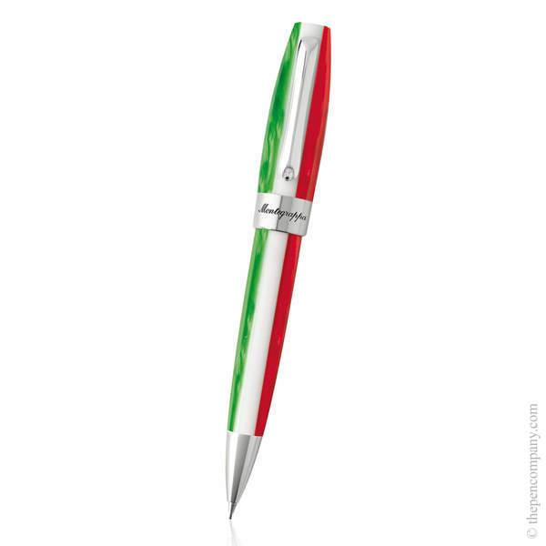 Steel Montegrappa Fortuna Tricolore Mechanical Pencil