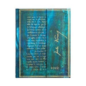 Paperblanks Verne, Twenty Thousand Leagues Embellished Manuscripts 2022 Diary Ultra - Front