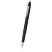 Black/Chrome Cross Classic Century Fountain Pen - 1
