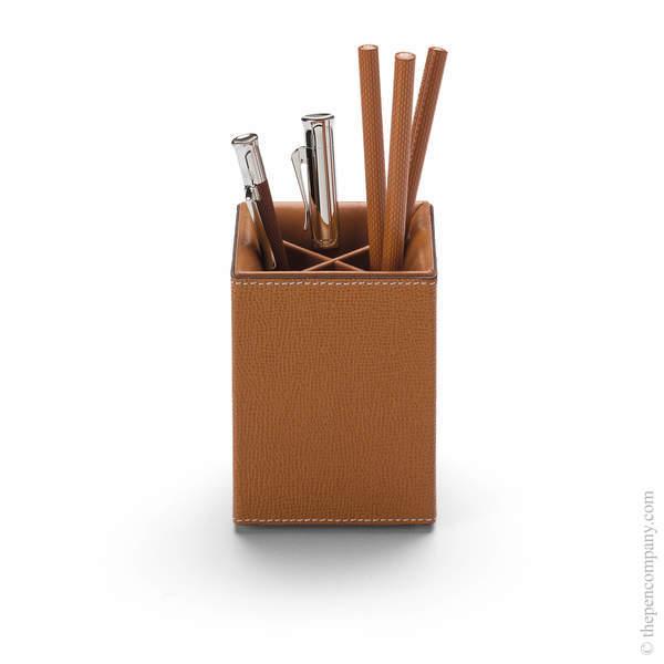 Cognac Graf von Faber-Castell Pure Elegance Pen Holder Pen Holder
