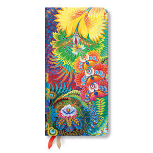 Slim Paperblanks Olenas Garden 2020 Diary Dayspring Horizontal Week-to-View - 1