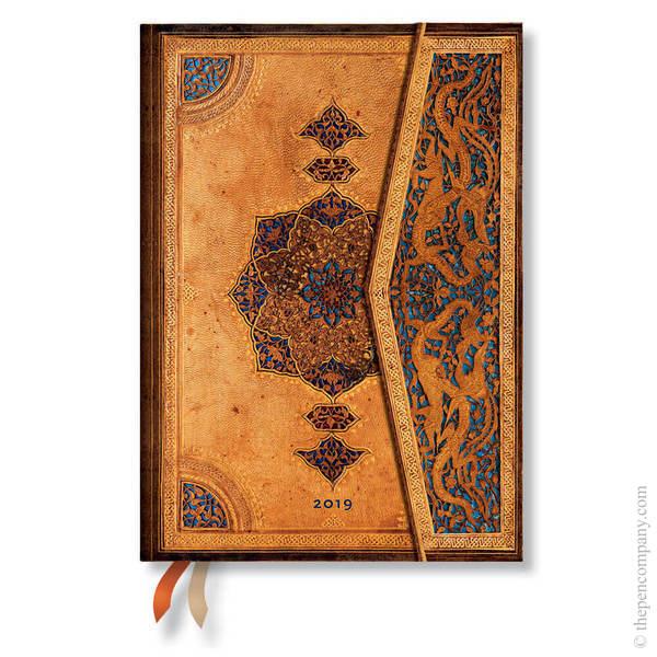 Midi Paperblanks Safavid 2019 Diary Day-to-View