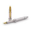 Jack Row Silver and Petrol Blue Diamond City fountain pen - 2