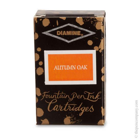 Autumn Oak Diamine Fountain Pen Ink Cartridges - 1