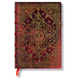 Lined Midi Paperblanks Carmine Equinoxe Journal - 1