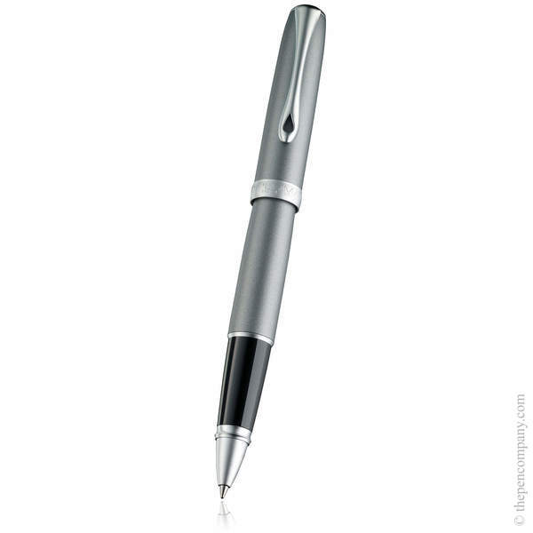 Venezia Platin Matt Chrome Diplomat Excellence A2 Rollerball Pen