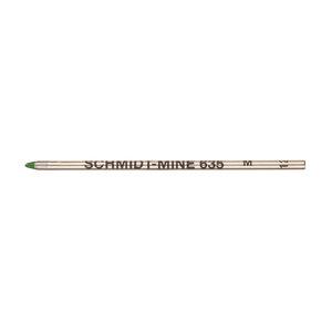 Green Schmidt S635M-595 Mini Ballpoint Pen Refill - 1