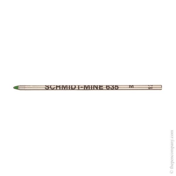 Green Schmidt S635 Mini Ballpoint Refill Refill