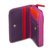 Mywalit Small Wallet with Zip-Around Purse Sangria Multi - 2