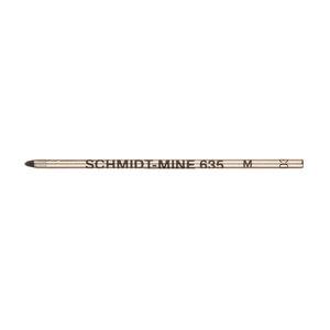 Black Schmidt S635M-505 Mini Ballpoint Pen Refill - 1