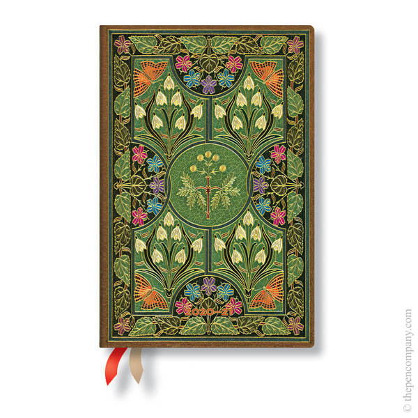 Mini Paperblanks Poetry in Bloom 2020-2021 18 Month Diary Academic Diary