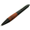 Lamy Accent Brilliant Ballpoint Pen Black/Briar Wood - 4