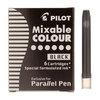 Black Parallel Pen Ink Cartridges Pack of 6 - 1