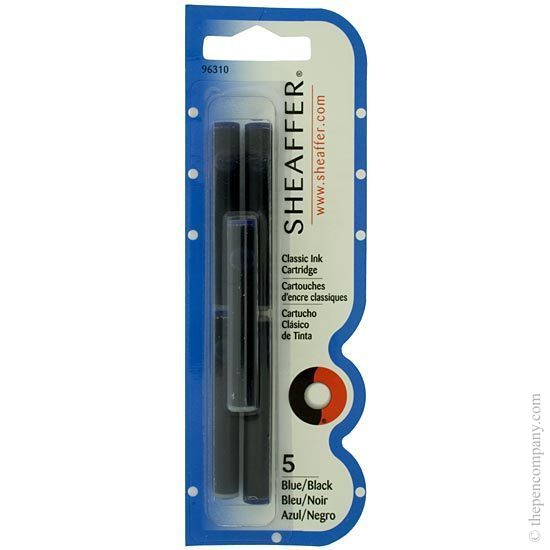 Sheaffer Skrip Fountain Pen Ink Cartridges Blue-Black - 1