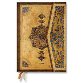 Midi Safavid 2018 Diary Horizontal Week-to-View - 1