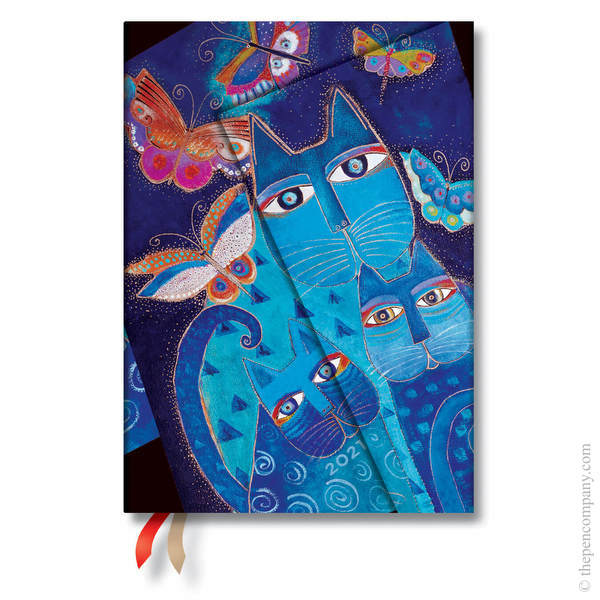 Midi Paperblanks Fantastic Felines 2021 Diary 2021 Diary