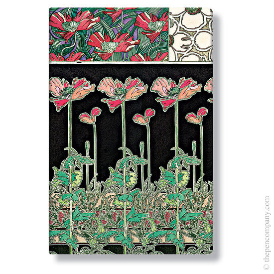 Mini Paperblanks Mucha Papaver Address Book - 1