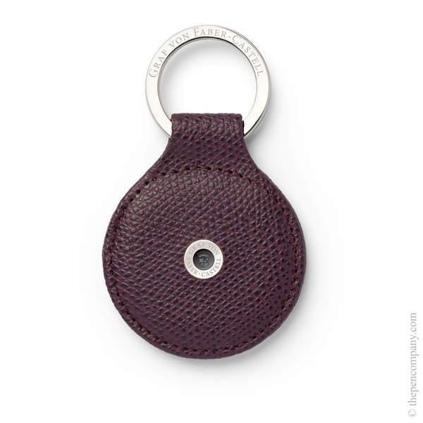Violet Blue Graf von Faber-Castell Epsom Key Ring Key Ring