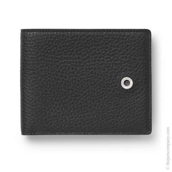 Black Graf von Faber-Castell Cashmere Leather Credit Card Case Card Holder