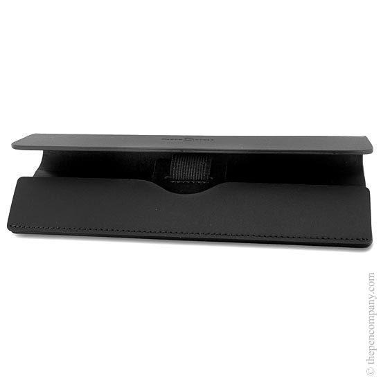 Faber-Castell Leather Single Pen Case Black - 1