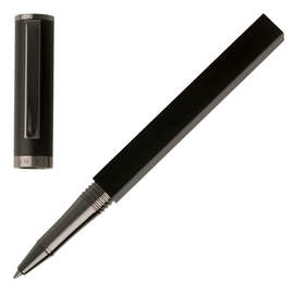 Black Hugo Boss Bauhaus Rollerball Pen - 1