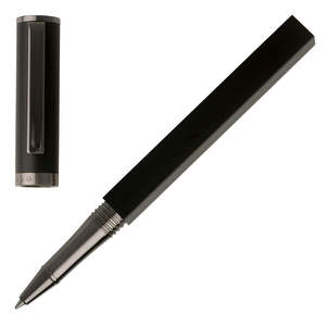 Black Hugo Boss Bauhaus Rollerball Pen - 1