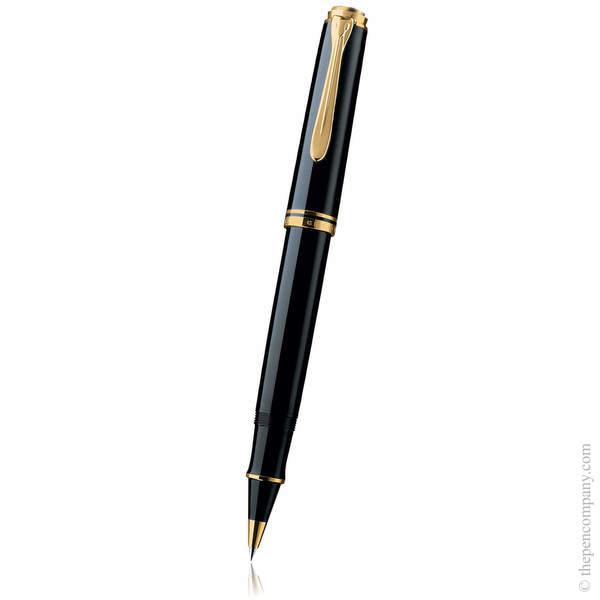 Black Pelikan Souverän M800 Rollerball Pen