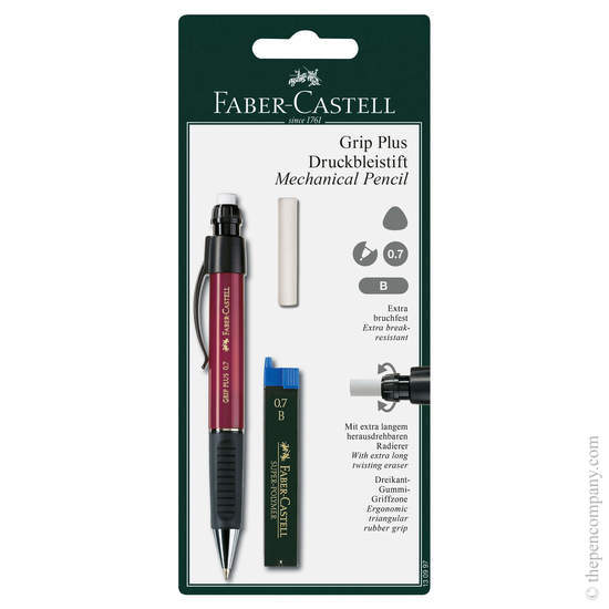 Red Faber-Castell Grip Plus Mechanical Pencil 0.7mm - 1