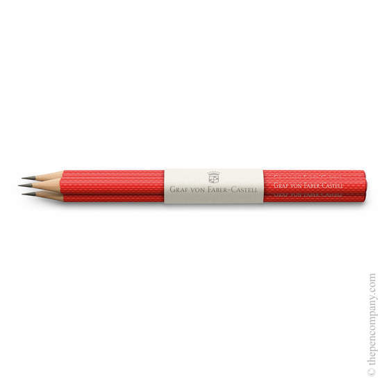 India Red Graf von Faber-Castell Guilloche Pencils - 1