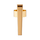 Gold Octagonal Pocket Clip - 1