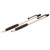 Tombow Zoom 707 Ball Pen and Pencil Set White with Black