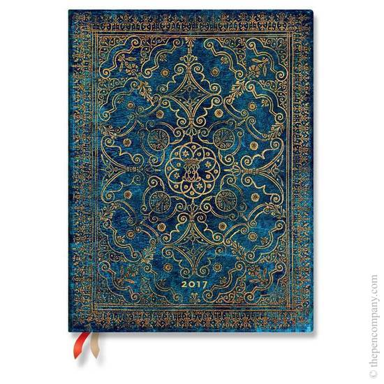 Paperblanks Ultra Week-to-view Equinoxe Azure 2017 Diary - 1
